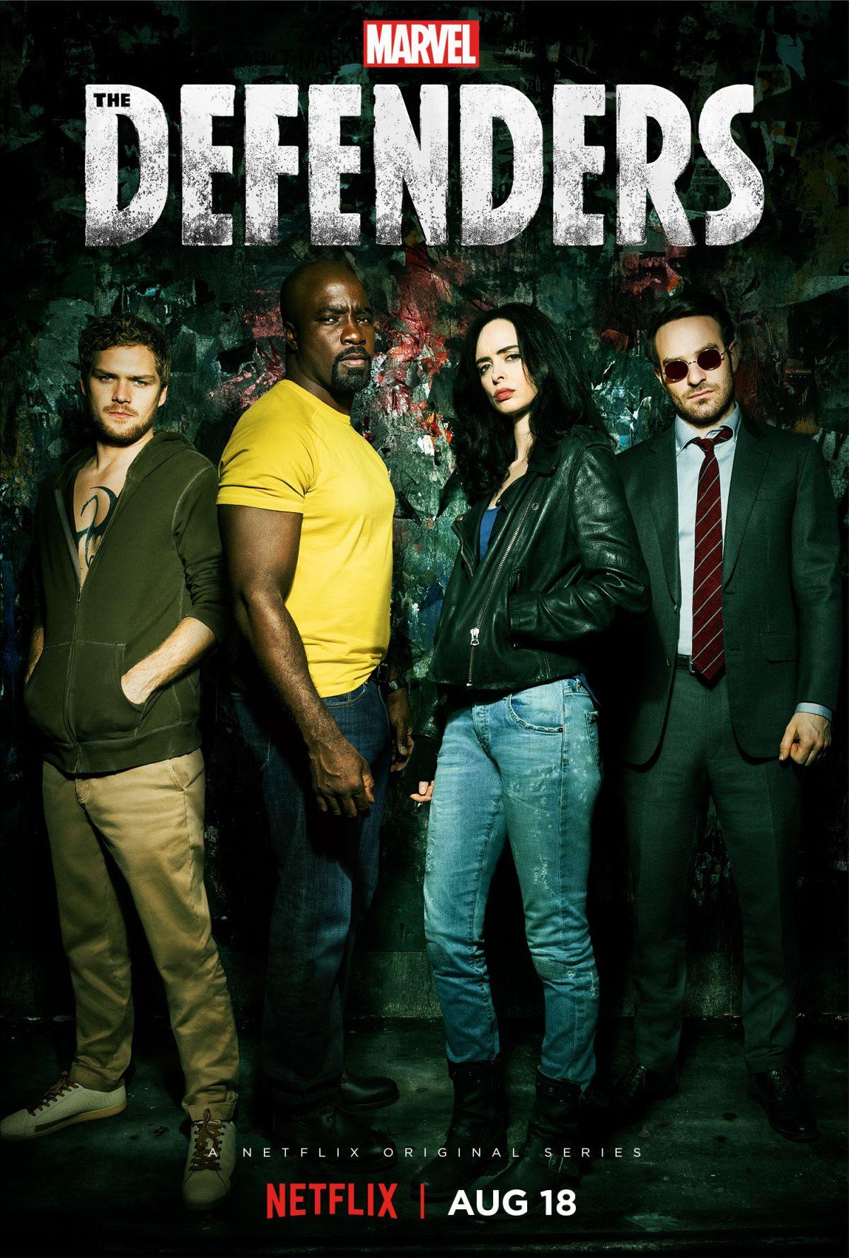 Resultado de imagem para Defenders serie posters