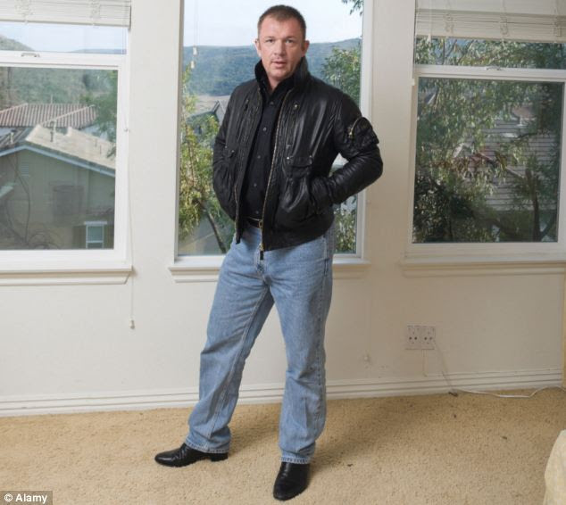 Upholding tradition: Alex, the 13th and current Duke of Manchester, is being arraigned in an American court today charged with buying a car with a dud cheque. Above, Alex is pictured at his home in California in 2007
