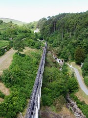 Laxey wheel drive rod from the top