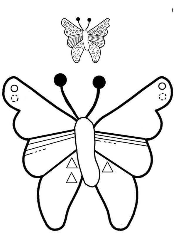 graphisme papillon g 1