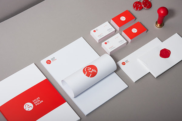 441 60 Professional Examples of Stationery Design