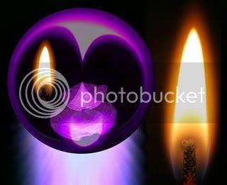 Imaginaremos la vela como si la tuvieramos delante, con toda nuestra fuerza mental
