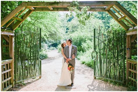 Whimsical Summer Wedding a the North Carolina Botanical