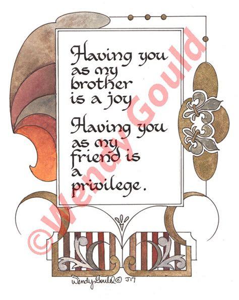 Love You Brother Quotes Sayings