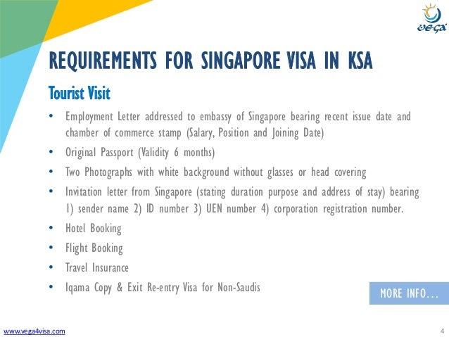 Visa Requirements Saudi Arabia To Singapore Tourist Visit