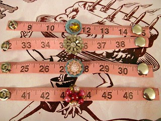 Pink Tape Measure Bracelets! 8