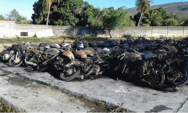 Fogo teria sido criminoso, afirma polícia / Foto: Divulgação/Agreste Violento.