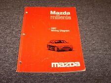 1997 Mazda Millenia Sedan Electrical Wiring Diagram Manual ...