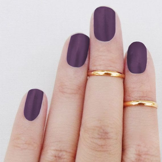 Above Knuckle Ring Sterling Silver 18K Gold Plated Stackable Rings Set of 2