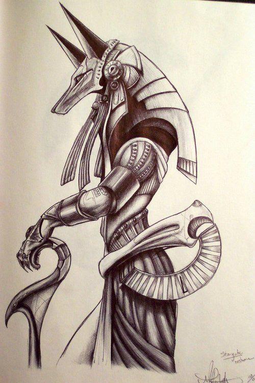 Egyptian Goddess Tattoo Design