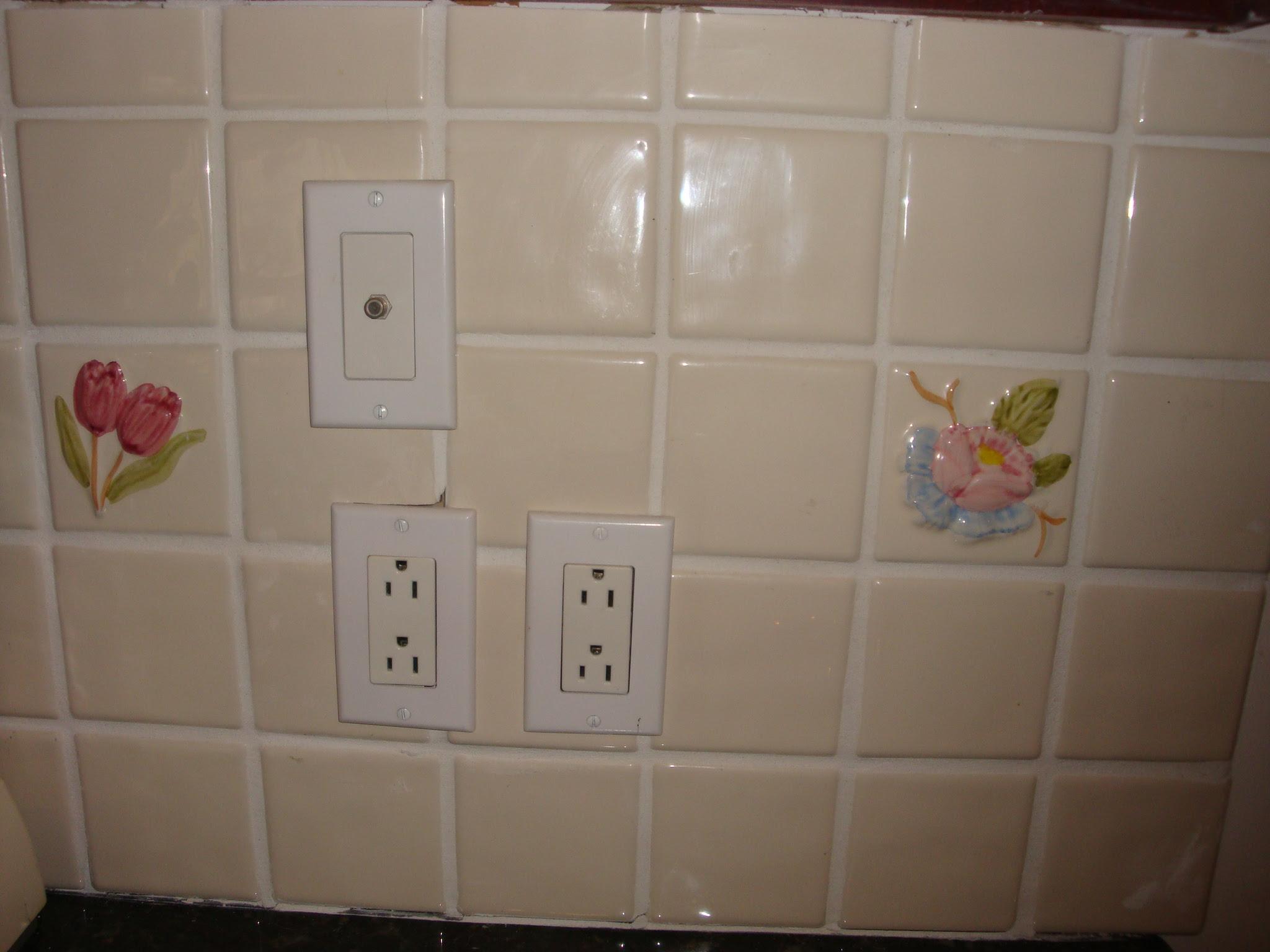 Paint Kitchen Tile Backsplash