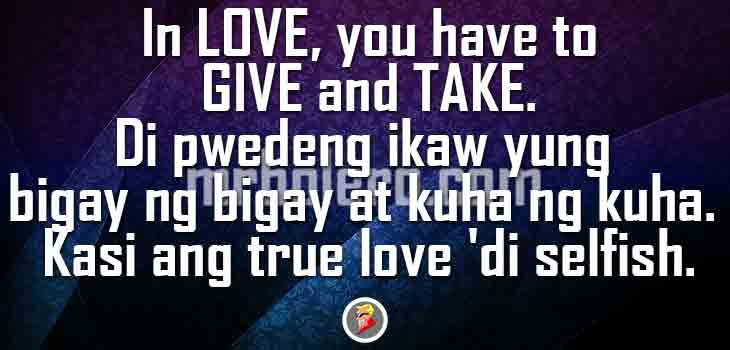 Tagalog Relationship Quotes