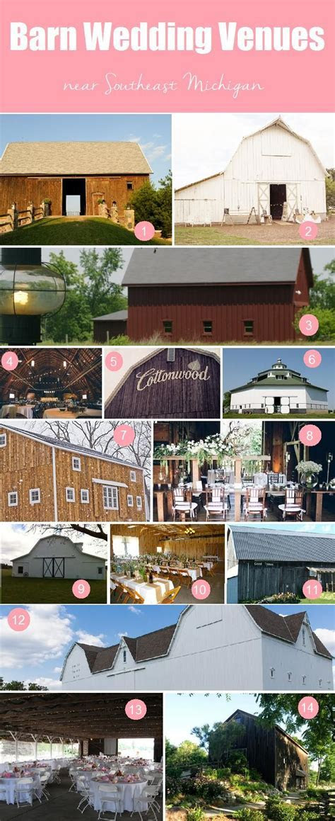 Barn Wedding Venues in Southeast Michigan   Wedding