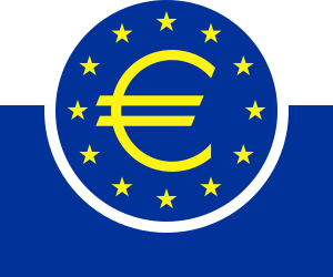 German Logo of the ECB.