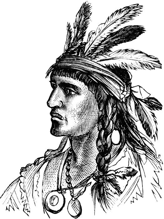 Native American Girl Drawing At Getdrawingscom Free For Personal