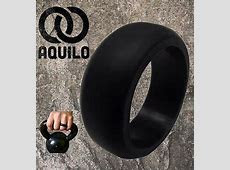 AQUILO Silicone wedding Ring Band rubber ring Crossfit, Best Flexible  Durable   eBay