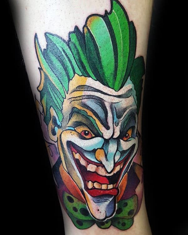 Unduh 101+ Gambar Tato Joker 3d Paling Bagus Gratis