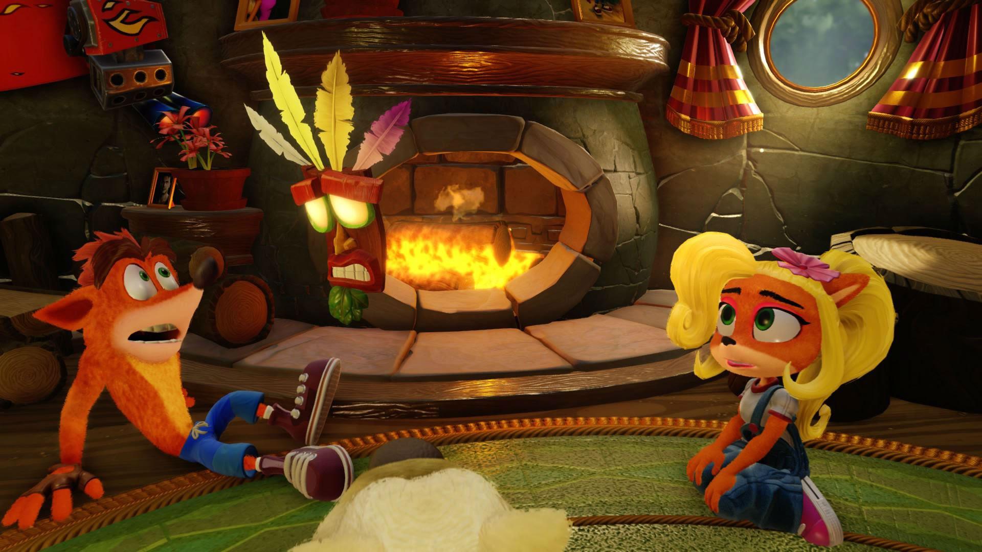 Crash Bandicoot holds firm at top of U.K. charts screenshot