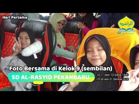 Rihlah Siswa Akhir SD al-Rasyid Pekanbaru ke SUMBAR (Hari Pertama)