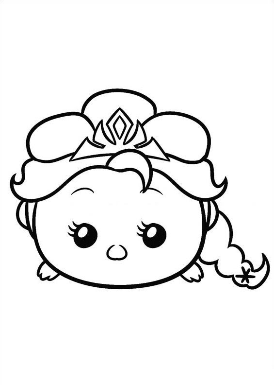Tsum Colouring Pages