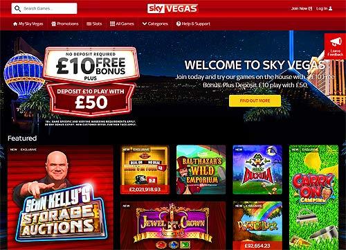 Sky vegas, sky casino and sky bet