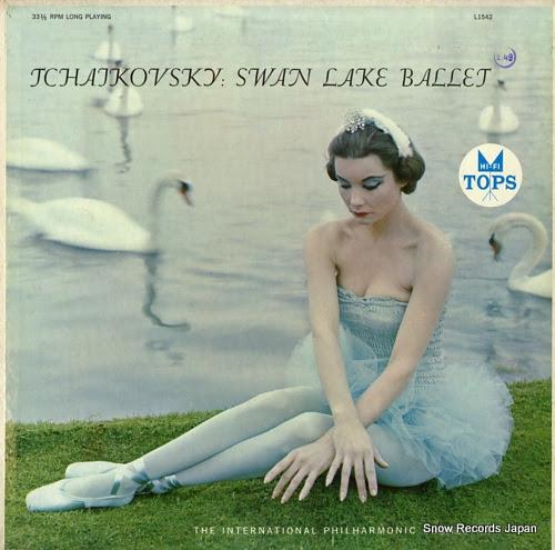インターナショナル・フィルハーモニック・オーケストラ tchaikovsky; swan lake ballet L1542