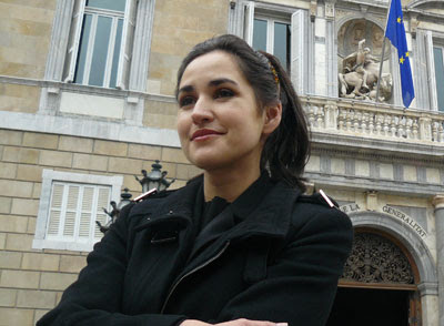 Mireya Barbeito, presidenta del PACMA.