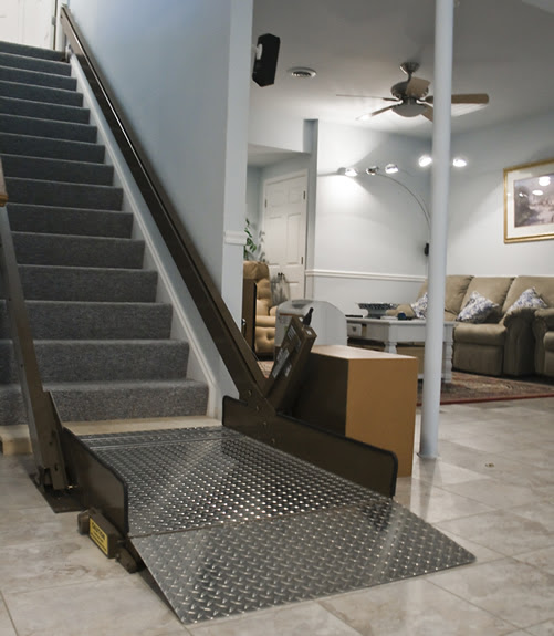 Butler Mobility Incline Platform Wheelchair Lift
