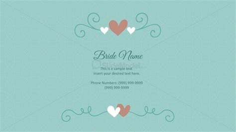 Wedding Cards PowerPoint Templates   SlideModel