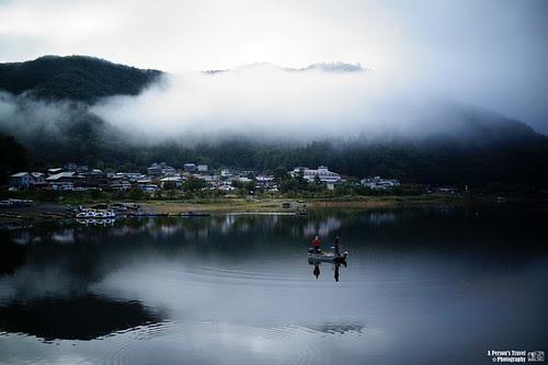 靜謐河口湖