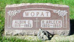 ruth arleen skarda wopat   find  grave memorial