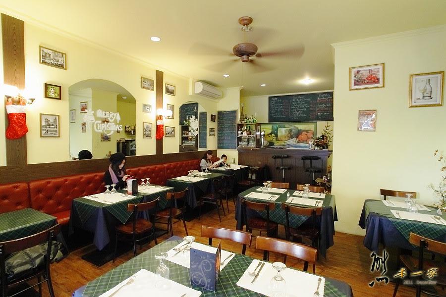 [台中法式餐廳] 咕嚕好吃法式風味廚坊GuLu's House~和帥氣大廚過耶誕