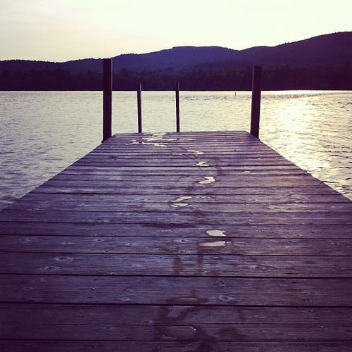 Jump in a lake.