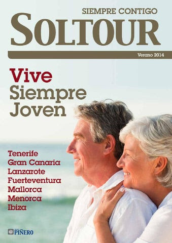 Soltour Folleto Tercera Edad Verano 2014