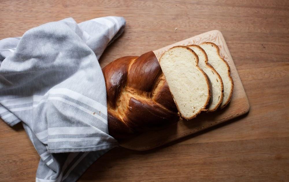 Plaited Milk Bread