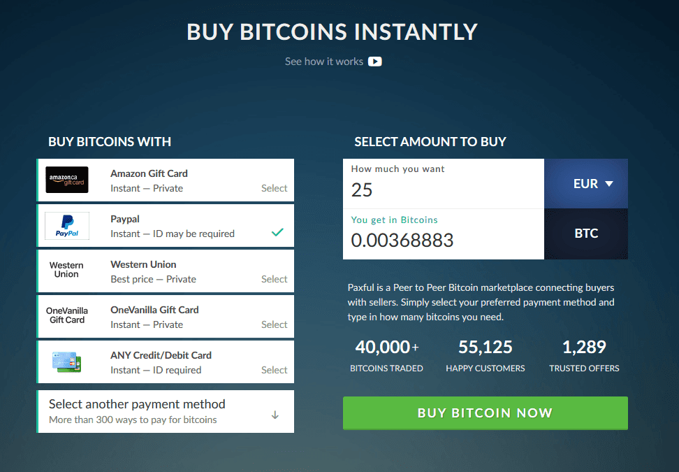 Buy Bitcoin With Paypal Credit Card And More -