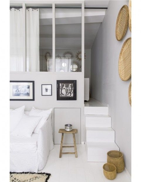 Chambre perchée par Maison Hand à Lyon