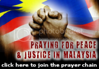 Praying for Peace and Justice in Malaysia