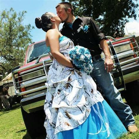 White and Blue camo Dress!   Grad dresses   Pinterest