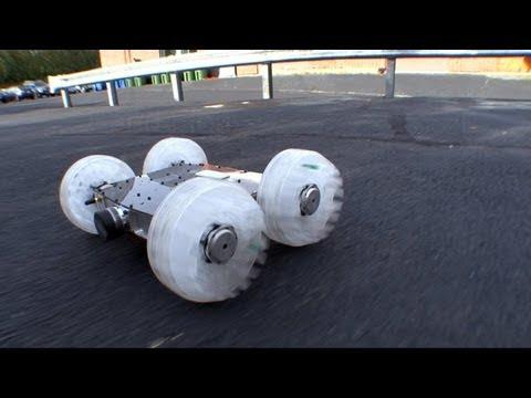 video que muestra a un robot capaz de saltar