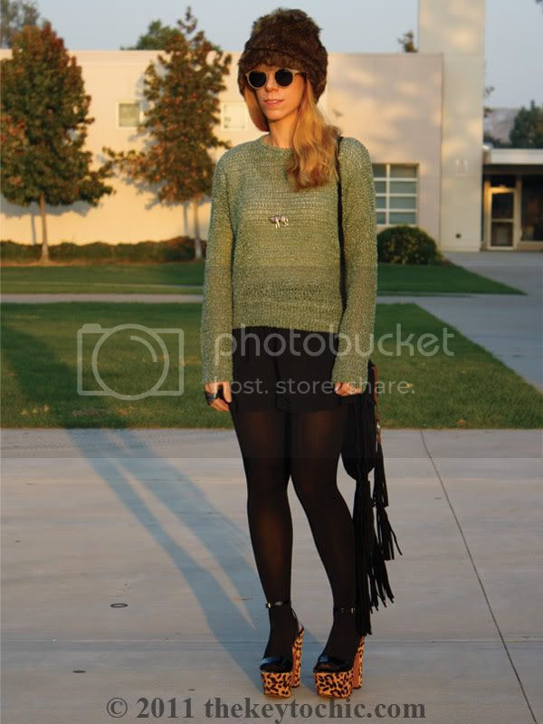 Albertus Swanepoel for Target Layla hat, Steve Madden Shazzam leopard heels, Los Angeles fashion blogger