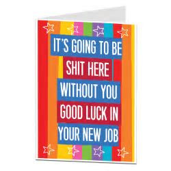 Leaving Card For Best Friend At Work   LimaLima Cards & Gifts