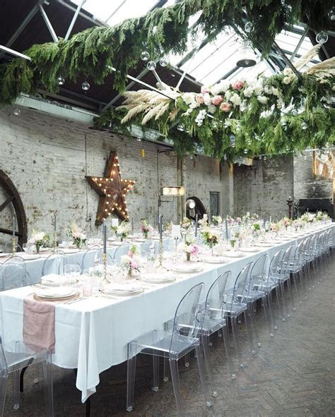 Elegant Warehouse Wedding London by London Bride   Venue