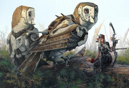 Overwatch Barn Owl Recon Units by Robert Chew