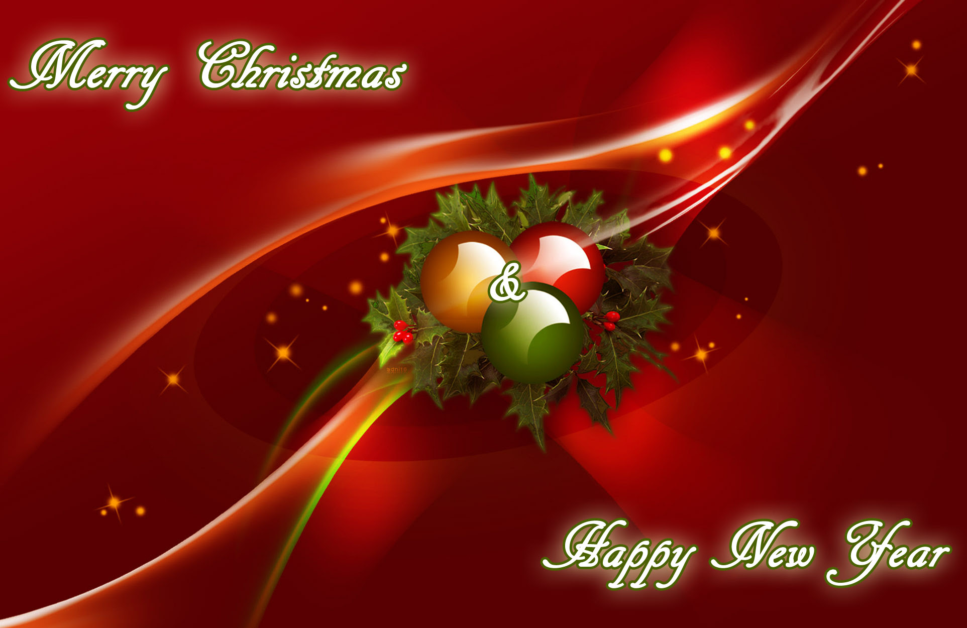 Christmas New Year Greetings Cards Free Sinter C