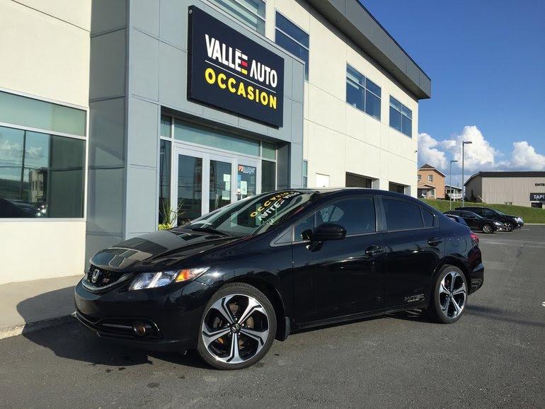 2015 Honda Civic Si Sedan Black
