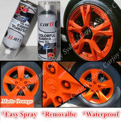 Car8 Removable Rubber Plasti Dip Wheel Rim Paint Spray Sydney Car Accessories Interior