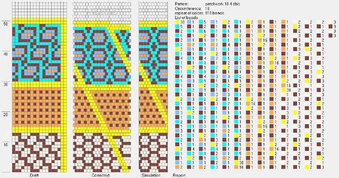 Schemi di perline (700x367, 87Kb)