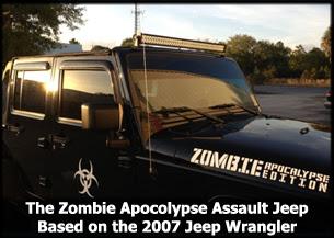 2007 Jeep Wrangler Assault Zombie Apocalypse
