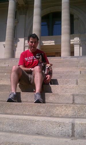 Steve, Dogs & Topeka Capitol